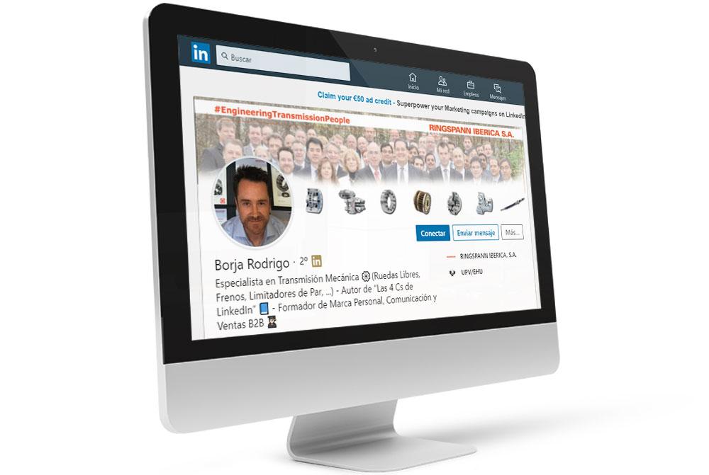 Testimonio del curso de LinkedIn de Borja Rodrigo